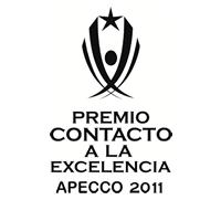PREMIO CONTACTO A LA EXCELENCIA APECCO 2011