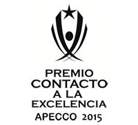 CONTACT EXCELLENCE AWARD APECCO 2015